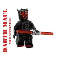 LEGO STAR WARS JEDI DARTH MAUL SITH 100% LEGO MINIFIG DOUBLE SABER SET 75169 NEW