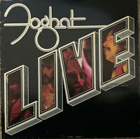FOGHAT ~ Foghat Live ~  1977 UK Bearsville label FIRST PRESSING 6-trk vinyl LP