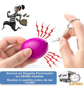 Llavero autodefensa con alarma de 120db seguridad en emergencia (Envio express)