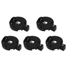 5Pcs Cr2032/Cr2025 3V Round Button Coin Cell Battery Socket Holder Case Black Us