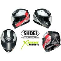 Shoei RF-1200 Brawn Helmet TC-1 Full Face Lightweight Pinlock Ready SNELL XS-2XL