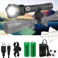 Zoombar Tactical Most Powerful XHP50/XHP70 LED Taschenlampe USB Fackel Jagde*