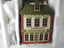 Heritage Village Collection- Dickens Village Fezziwig's Warehouse Boxed