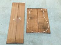 African Sapele Guitar Backs and Sides sets AAA luthier tonewood (3 sets Pack)