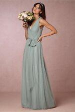 BHLDN Pippa Dress Size 18 Watters Wedding Horizon Blue Tulle $250 NWT