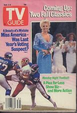 TV Guide Magazine September 2-8 1989 Monday Night Football 081617nonjhe