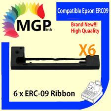 6x ERC-09 ERC09 ERC-09B compatible Epson EFTPOS / AUTOCLAVE RIBBON ERC80, HX20