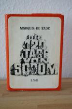 Marquis de Sade Die 120 Tage von Sodom 1.Teil Leipzig Nachdruck1909 Exemplar 319