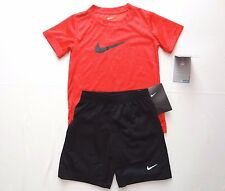 2 Piece NIKE DRI-FIT SHIRT & SHORTS OUTFIT SET SIZE 4T  #613 NWT!