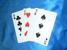 Kartentrick m. RIESENKARTEN Jumbo cards kinderleicht + große zauber.doc-Datei