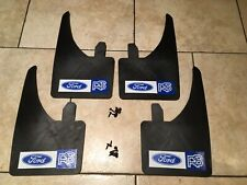 UNIVERSAL FIT FORD RS MUDFLAPS (SET OF 4) ESCORT COSWORTH FOCUS SIERRA FIESTA