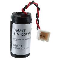 3V 1200mAh PLC Backup Battery Allen Bradley 1745-B1 SLC-100 COMP-108 Replacement