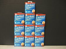 10 Lactaid FAST ACT GAS DIARRHEA DAIRY DIGESTION Relief 10x12Cplts 8/17 DE 8334
