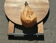 Vintage MacGregor Punching Bag~ Cow Hide~ w/Mount Racket~ Free Ship