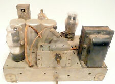 vintage  PHILCO 37-84 CATHEDRAL RADIO: Non-Working Chassis - produces line noise