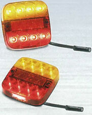 TRAILER BOAT STOP/TAIL/INDICATOR/LICENCE  X 2 LAMPS 99 S 12 VOLT  LED AUTOLAMPS