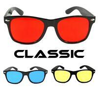 NWT Classic Retro Sunglasses Cosmo Fashion Men Women Square Frame Color Lens