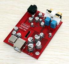 TE7022+CS4398+OPA2132 24BIT-96K USB DAC board with headphone amp output