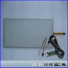 "15.6"" inch 359*212 4Wire Resistive Touch Screen Panel USB kit for monitor"