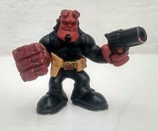 "2009 Mezco Hellboy II 2 B.P.R.D. Buddies RED 2.25"" Action Figure BPRD Hell Boy"