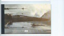Leucocitos. GB-sello de prestigio folletos - 2015-DY15-la fabricación de Star Wars