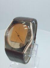 Philippe Starck PH6005 Rare men's luxury dresswatch rose PH-6005 analog S+ark