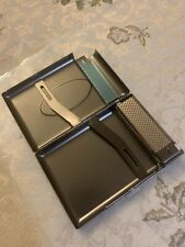 Metal Cigarette Tobacoo Case Box With Lighter Incorporated