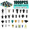 1000x Mixed Fastener Clip Bumper Fender Trim Plastic Rivet Door Panel Car