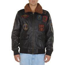 Top Gun Maverick Bomber Jacket Uomo 196 53313 52386 169 Marrone