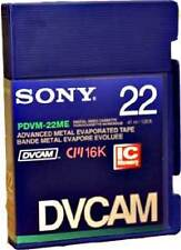 DVCAM Aufnahmemedien