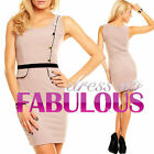 SEXY SHEATH DRESS FABULOUS EVENING FORMAL OFFICE ELEGANT Size 4 6 8 10 12 S M L
