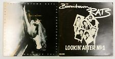 "The BOOMTOWN RATS 1st UK LP 1977 + Bonus 12"" Lookin After No 1 BB"