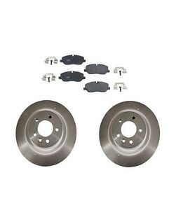For Land Rover Range Rover Sport 4.4L Front Disc Brake Brembo Rotors TRW Pads