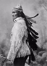 Native American Indian Apache Chief Geronimo 1880's 7x5 Inch Reprint Photo