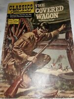 Vintage Classics Illustrated THE COVERED WAGON No. 131