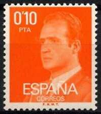 España 1976-84, 10 C Rey Carlos Definitivos estampillada sin montar o nunca montada #D64347