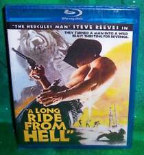NEW RARE OOP CODE RED STEVE REEVES A LONG RIDE FROM HELL CULT MOVIE BLU RAY 1969