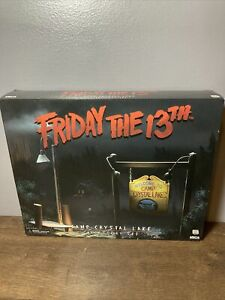 NECA Friday the 13th Camp Crystal Lake Accessory Set NEW open NEVER USED Jason
