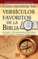 Coleccion Temas de Fe: Como encontrar versiculos favoritos de la Biblia by...