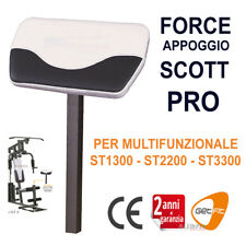 GetFit - FORCE APPOGGIO SCOTT Pro - Accessorio SCOTT BICIPITI x MULTIFUNZIONALE