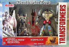 Transformers Silver Knight Optimus Prime Grimlock Target Exclusive 2-Pack AOE