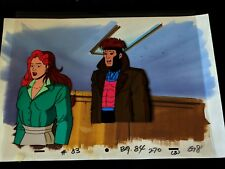 Gambit X-Men The Animated Series Production Cel Painted & Background #Tt