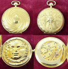 IWC Scarabaeus Fuchs 18ct Gelbgold limitierte Savonette Taschenuhr von1983 Nr186