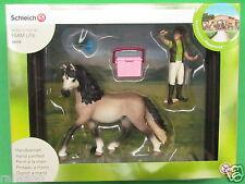 Schleich® World of Horses 42270 Pferdepflegeset, Andalusier Blitzversand per DHL
