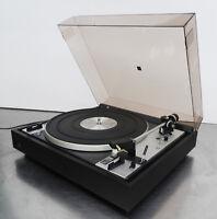 vintage turntable Record player Plattenspieler belt drive Dual 601 Ortofon M20E