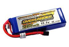 11.1v 3S 2200mAh 35C Lipo Batteries (Deans Connector) Supersport SKU2567