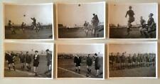 LOT 6 ANCIENNES PHOTOS SOC CHOLET - CHAMPION DE L'OUEST 1945 - 1946
