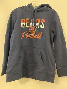 NFL Chicago Bears Fanatics Women's Hoodie Sweatshirt NWT Size Large