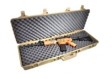 DESERT TAN SRC P42 AIRSOFT BB RIFLE HARD CARRYING LARGE CASE 105cm