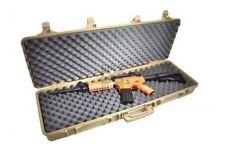 Desert tan src Airsoft BB Fusil Transport Rigide Grand cas 105 cm